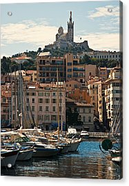 Acrylic Print featuring the photograph Marseilles by Ron Dubin