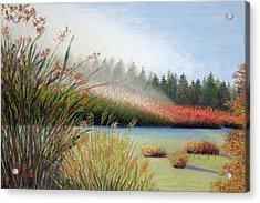 Marsh Morning Acrylic Print