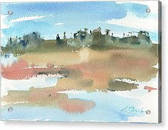 Marsh No.48 Acrylic Print by Sumiyo Toribe