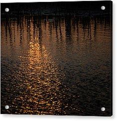 Marsh Sunrise Acrylic Print