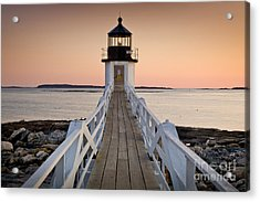 Marshal Point Glow Acrylic Print by Susan Cole Kelly
