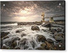 Marshal Point Lighthouse Acrylic Print