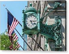 Marshall Field's Clock Acrylic Print