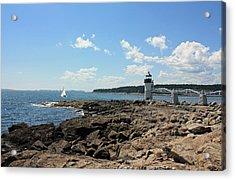 Marshall Point Lighthouse Acrylic Print