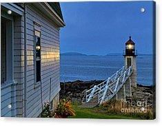 Marshall Point Lighthouse Acrylic Print by John Greim