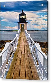 Marshall Point Lt. Acrylic Print