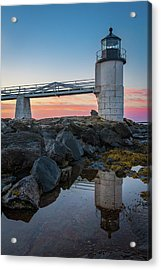 Marshall Point Reflection At Sunrise Acrylic Print