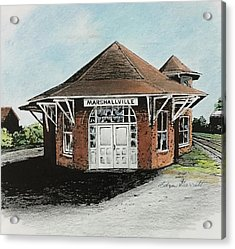 Marshallville Depot Acrylic Print