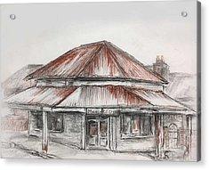 Marsh's Corner Store Acrylic Print