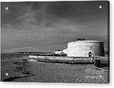 Martello Tower Number 74 Seaford Sussex Acrylic Print by James Brunker