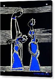 Martha And Mary Of Bethany Acrylic Print by Gloria Ssali