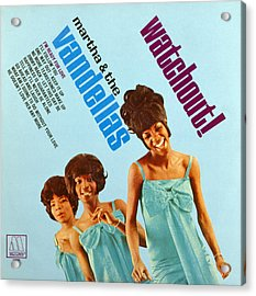 Martha And The Vandellas Acrylic Print by Granger