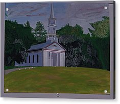 Martha Mary Chapel Acrylic Print by William Demboski