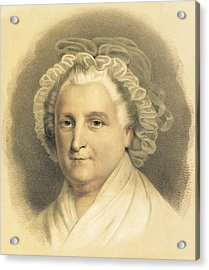 Martha Washington Acrylic Print