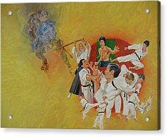 Martial Arts Acrylic Print