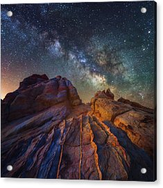 Acrylic Print featuring the photograph Martian Landscape by Darren White