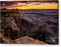 Martian Landscape On Earth - Utah Acrylic Print by Gary Whitton