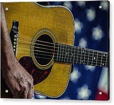 Martin Guitar 1 Acrylic Print