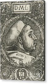 Martin Luther, 1521 Acrylic Print