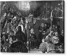 Martin Luther, Imperial Diet Of Worms Acrylic Print