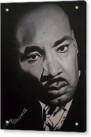 Martin Luther King Acrylic Print
