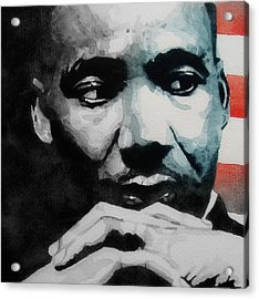 Martin Luther King Jr- I Have A Dream  Acrylic Print