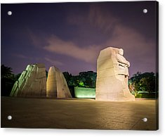 Martin Luther King Jr. Memorial Acrylic Print