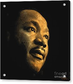 Martin Luther King, Jr. Acrylic Print