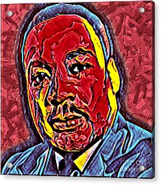 Martin Luther King Jr. Portrait Acrylic Print