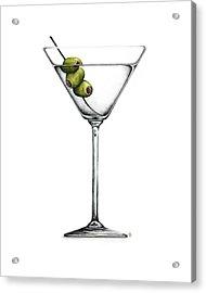 Martini Acrylic Print by Christina Meeusen