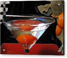 Martini Fantazy1 Acrylic Print by Evguenia Men