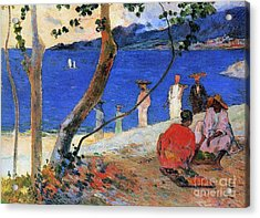 Martinique Island Acrylic Print by Paul Gauguin