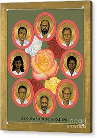 Martyrs Of The Jesuit University - Rlmju Acrylic Print