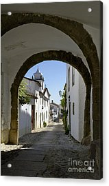 Marvao Archway Acrylic Print by Mikehoward Photography