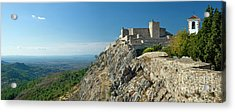 Marvao Castle Acrylic Print by Mikehoward Photography