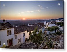 Marvao Dawn Acrylic Print by Mikehoward Photography