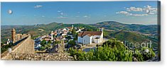 Marvao, The Walled Medieval Town Acrylic Print by Mikehoward Photography