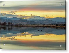 Acrylic Print featuring the photograph Marvelous Mccall Lake Reflections by James BO Insogna
