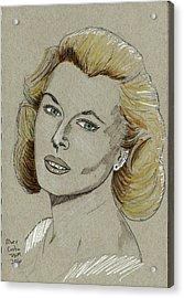 Mary Costa Acrylic Print