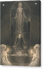 Mary Magdalen At The Sepulchre Acrylic Print