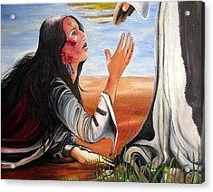 Mary Magdalene Acrylic Print