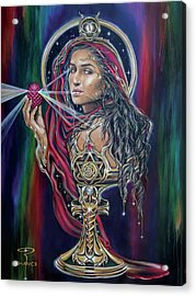 Mary Magdalen - The Holy Grail Acrylic Print