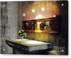 Mary Magdelene's Altar Acrylic Print