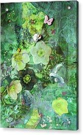 Mary Mary Acrylic Print by Jennifer Kelly
