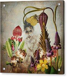 Mary Mary Quite Contrary Acrylic Print
