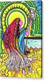 Mary Of Madgala Acrylic Print by Maggie Nancarrow