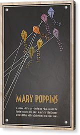 Mary Poppins Acrylic Print by Megan Romo
