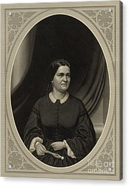 Mary Todd Lincoln, First Lady Acrylic Print by Science Source
