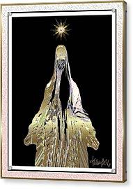 Mary Wept Acrylic Print