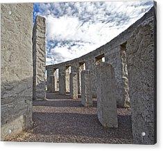 Maryhill Stonehenge 5 Acrylic Print